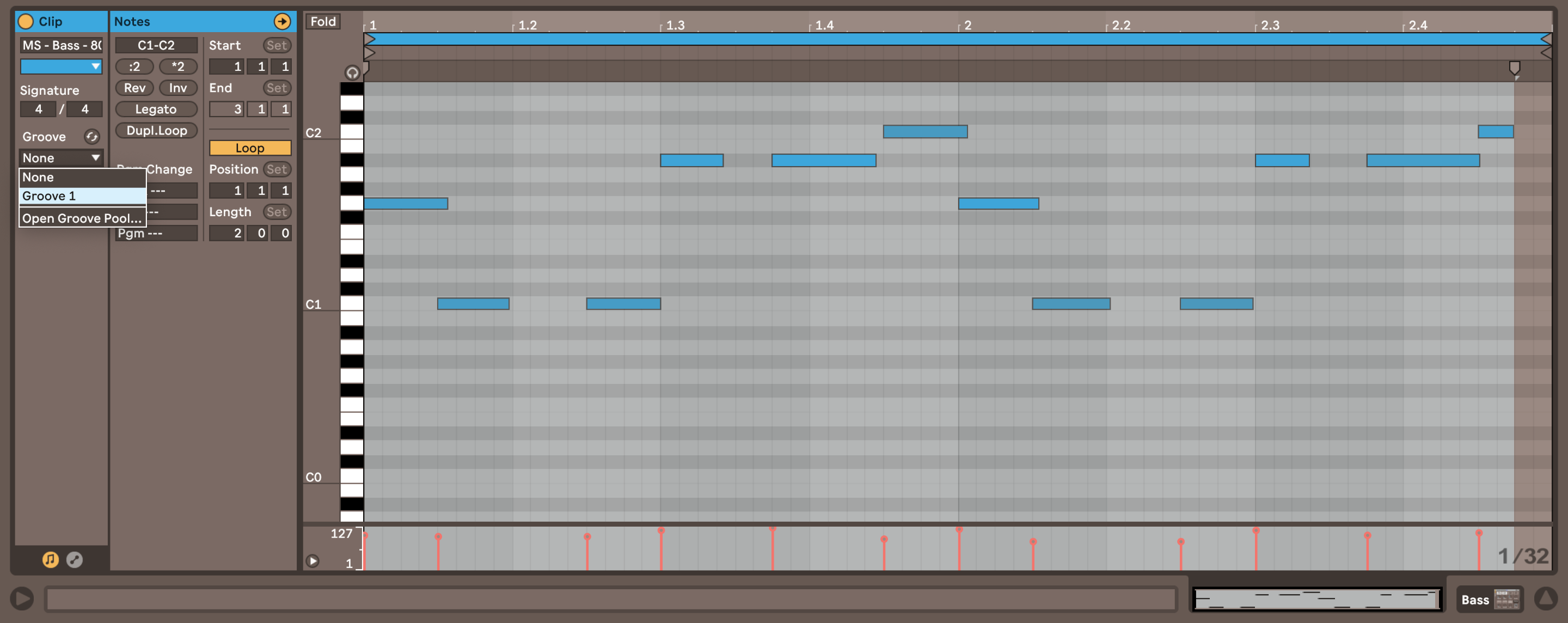 Using MIDI Samples with Ableton's Groove Pool